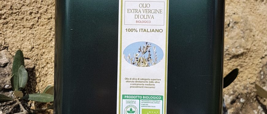 Tuscan Organic Oil can 3 liters