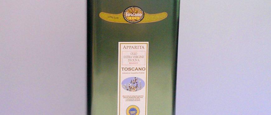 Tuscan Organic Oil can 5 liters
