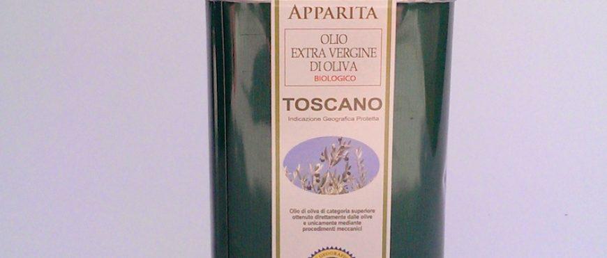 Lattina di Olio Biologico IGP Toscano da 500 ml